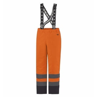 Helly Hansen Workwear Mens Alta Insulated Pant High Visibility - Orange/Charcoal - XL