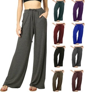 Link to NioBe Clothing Womens Casual Loose Fit Comfortable Lounge Pajama Pants Similar Items in Pants