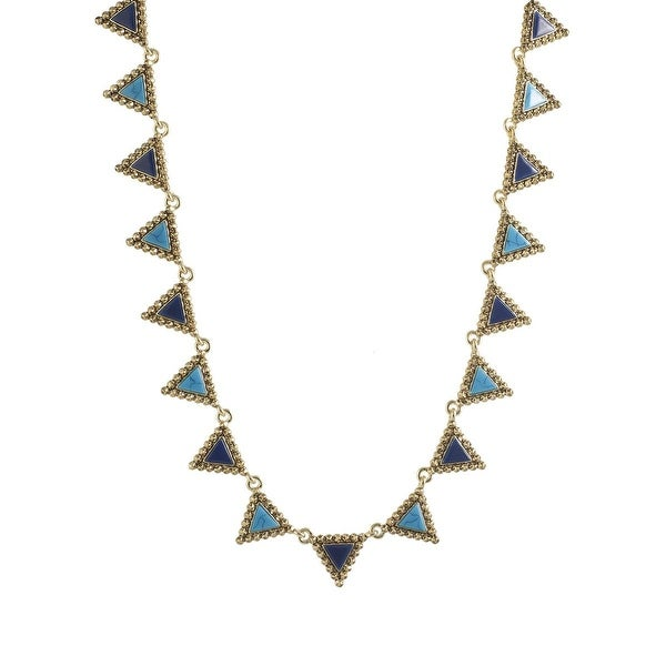 House of Harlow by Nicole Richie Womens Native Legend Collar Necklace Triangle