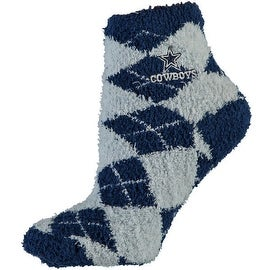 Dallas Cowboys Argyle Sleep Socks (Medium)