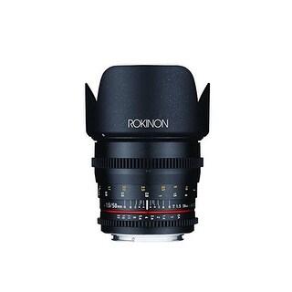 Rokinon DS 50mm T1.5 Cine Lens for Canon EF - Black