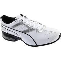 PUMA Men's Tazon 6 FM Sneaker Puma White/Puma Silver/Puma Black