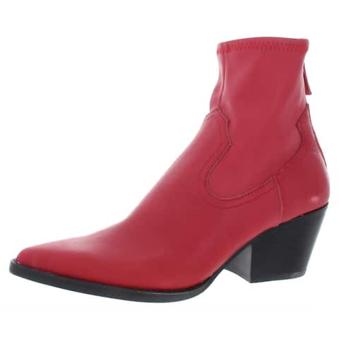 Dolce Vita Womens Shanta Booties Leather Ankle