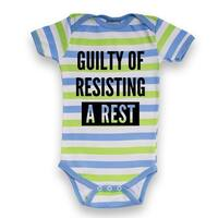 Guilty Of Resisting A Rest-Infant One Piece