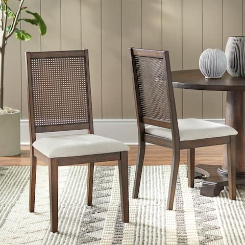 Simple Living Westbury Cane Dining Chair (Set of 2)