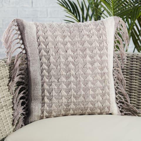 Edris Indoor/ Outdoor Geometric Pillow