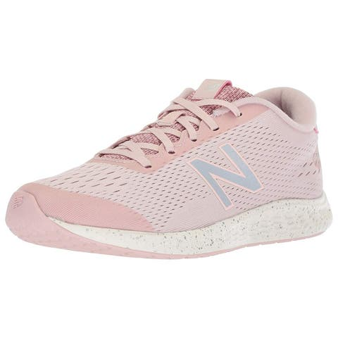 Kids New Balance Girls Kjarnlby Low Top Lace Up Walking Shoes