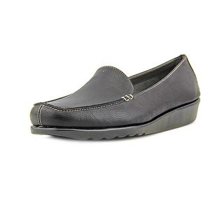 A2 By Aerosoles Gondola Women  Square Toe Synthetic Black Loafer
