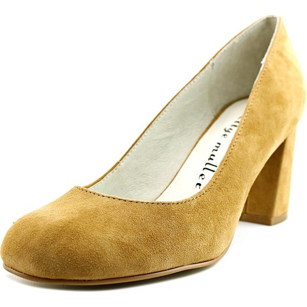 443d44e4c Shop Bettye Muller Colette Women Camel Pumps - Free Shipping On ...