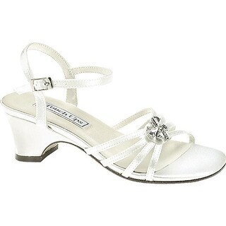Touch Ups Girls' Betsy White Satin