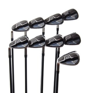 New Cobra Fly-Z XL Irons 4-PW,GW,SW R-Flex Graphite 65g LEFT HANDED