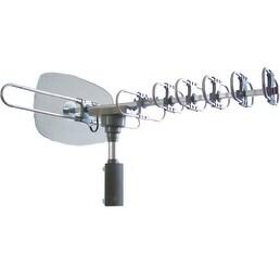 """Naxa NAXNAA351S NAXA Electronics NAA-351 High Powered Amplified Motorized Outdoor Antenna for ATSC and HDTV"""