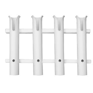 TACO 4-Rod Poly Rod Rack-White - P03-064W