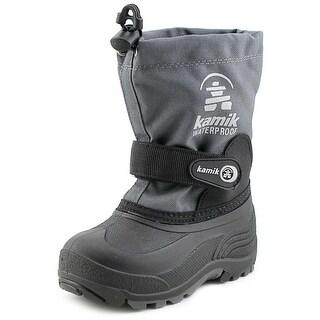 Kamik Waterbug   Round Toe Synthetic  Snow Boot