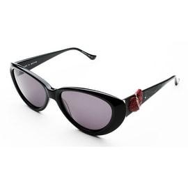 Judith Leiber Women's Be My Valentine Sunglasses Onyx - Small