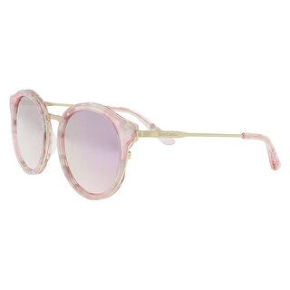 Juicy Couture JU596/S 0S45/0J Pink Gold Round Sunglasses - 52-19-140