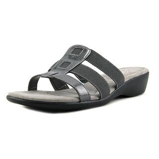 Life Stride Talk Open Toe Synthetic Slides Sandal