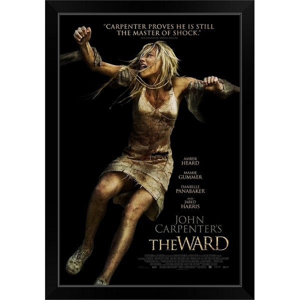 """The Ward (2011) - Movie Poster"" Black Framed Print"
