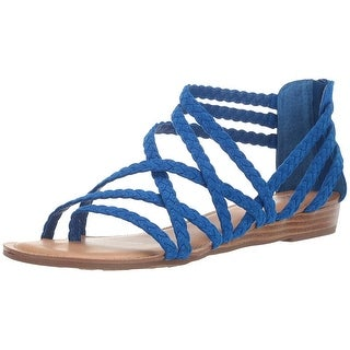 Link to Carlos by Carlos Santana Womens Amara 2 Split Toe Casual Strappy Sandals Similar Items in Women's Shoes