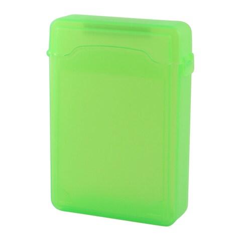 Unique Bargains Green Plastic 3.5 HDD Protector Storage Hard Drive External Case Box Guard