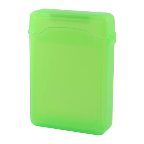 Unique Bargains Green Plastic 3.5 HDD Protector Storage Hard Drive External Case Box Guard