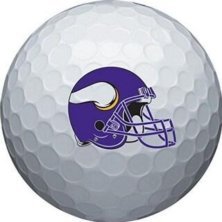 Wilson NFL Minnesota Vikings Golf Balls Team Logo Wilson Ultra 500, 6 Pack