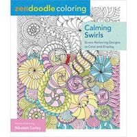 St. Martin's Books-Zendoodle Coloring: Calming Swirls