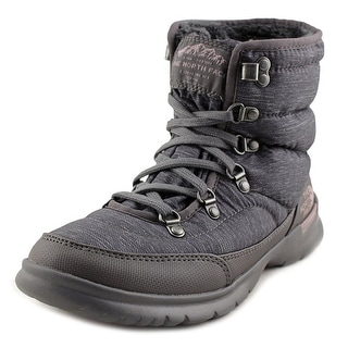 The North Face Thermoball Lace II  Phantom Grey Heather Print/Quail Grey Snow Boots
