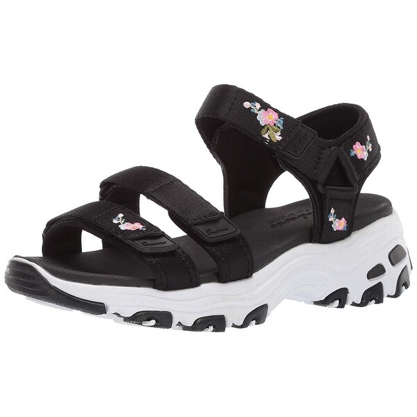 Shop Skechers Women's D'Lites Awesome Blossom Floral