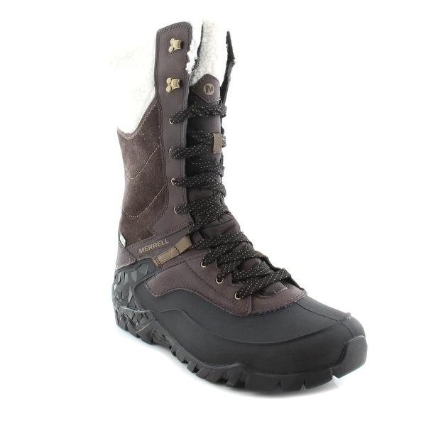 7d0e3f1e56760 Shop Merrell Aurora Tall Women's Boots Espresso - Free Shipping ...