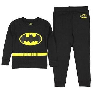 Intimo DC Comics Toddler Boys' Batman Long Sleeve Pajama Set