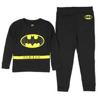Intimo DC Comics Toddler Boys' Batman Long Sleeve Pajama Set