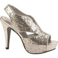 Dyeables Women's Kat Silver Glitter