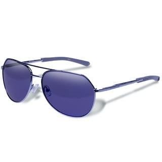 Gargoyles VICTOR POLARIZED Aviator GUNMETAL/SMOKE/BLUE Sunglasses