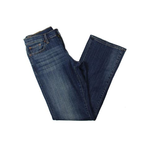 Lucky Brand Womens Easy Rider Bootcut Jeans Relaxed Fit Mid-Rise