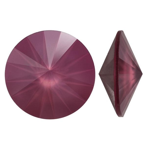 33b383f7d Shop Swarovski Crystal, 1122 Rivoli Fancy Stones 12mm, 4 Pieces, Crystal  Dark Red - Free Shipping On Orders Over $45 - Overstock.com - 19674799