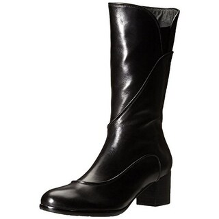 Everybody Womens Remi Mid-Calf Boots Leather Riding