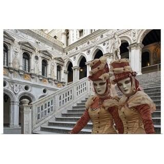 """Venetian Carnival Masks"" Poster Print"