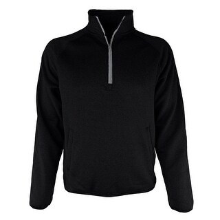 Buffalo Outdoors® Quarter Zip Honeycomb Pullover