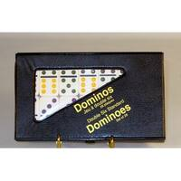Dbl 6 Color Dot Ivory Dominoes