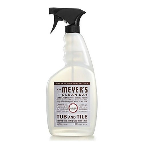 Mrs. Meyer's Clean Day 11168 Tub & Tile Cleaner, Lavender, 33 Oz