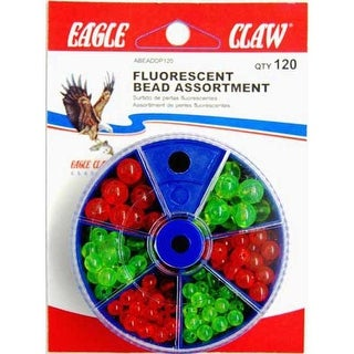 Eagle Claw Bead Dial Pack Assortment 120ct