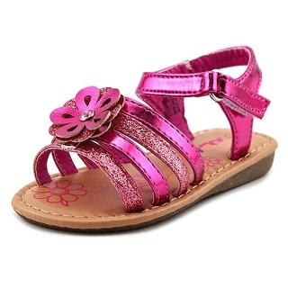 Josmo Flower Sandal Toddler Open Toe Synthetic Sandals