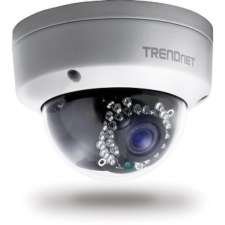 Trendnet Indoor/Outdoor Dome Style, Poe Ip Camera With 3 Megapixel Full 1080P, Ip66 Rated Housing, Night Vision Up To 82
