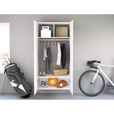 "Prepac 36"" HangUps Wardrobe Cabinet - 36"" W x 72"" H x 20"""