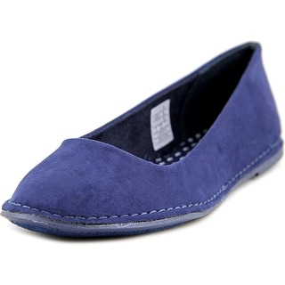 Rocket Dog Mazzy Women Round Toe Synthetic Blue Flats