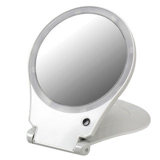 10X Magnification Lighted Mirror