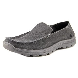 Skechers Superior Round Toe Canvas Loafer