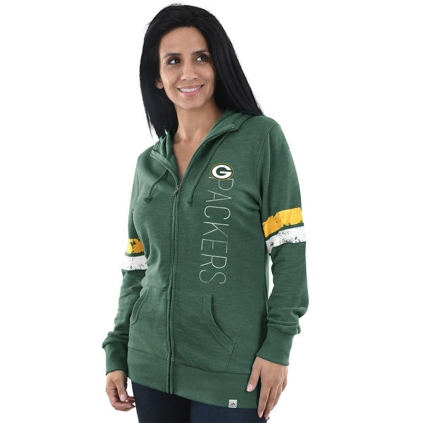 new product 6af0f 83959 Shop Green Bay Packers Athletic Tradition Women's Hoodie ...