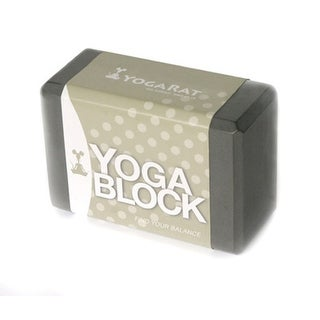 YogaRat Yoga Block - Charcoal